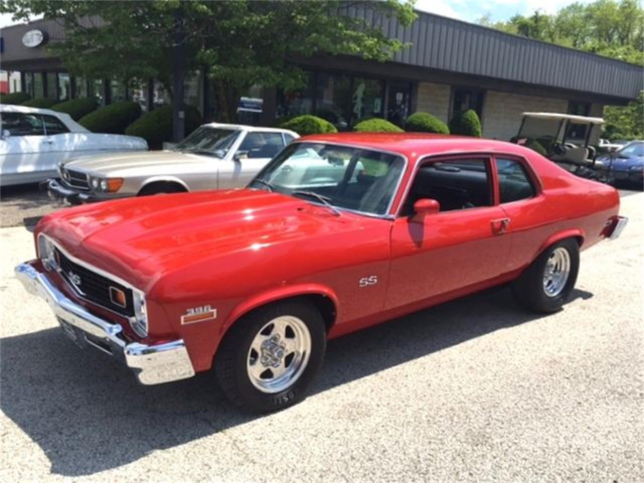 Large Picture of Classic 1973 Chevrolet Nova Offered by Black Tie Classics - OCOA