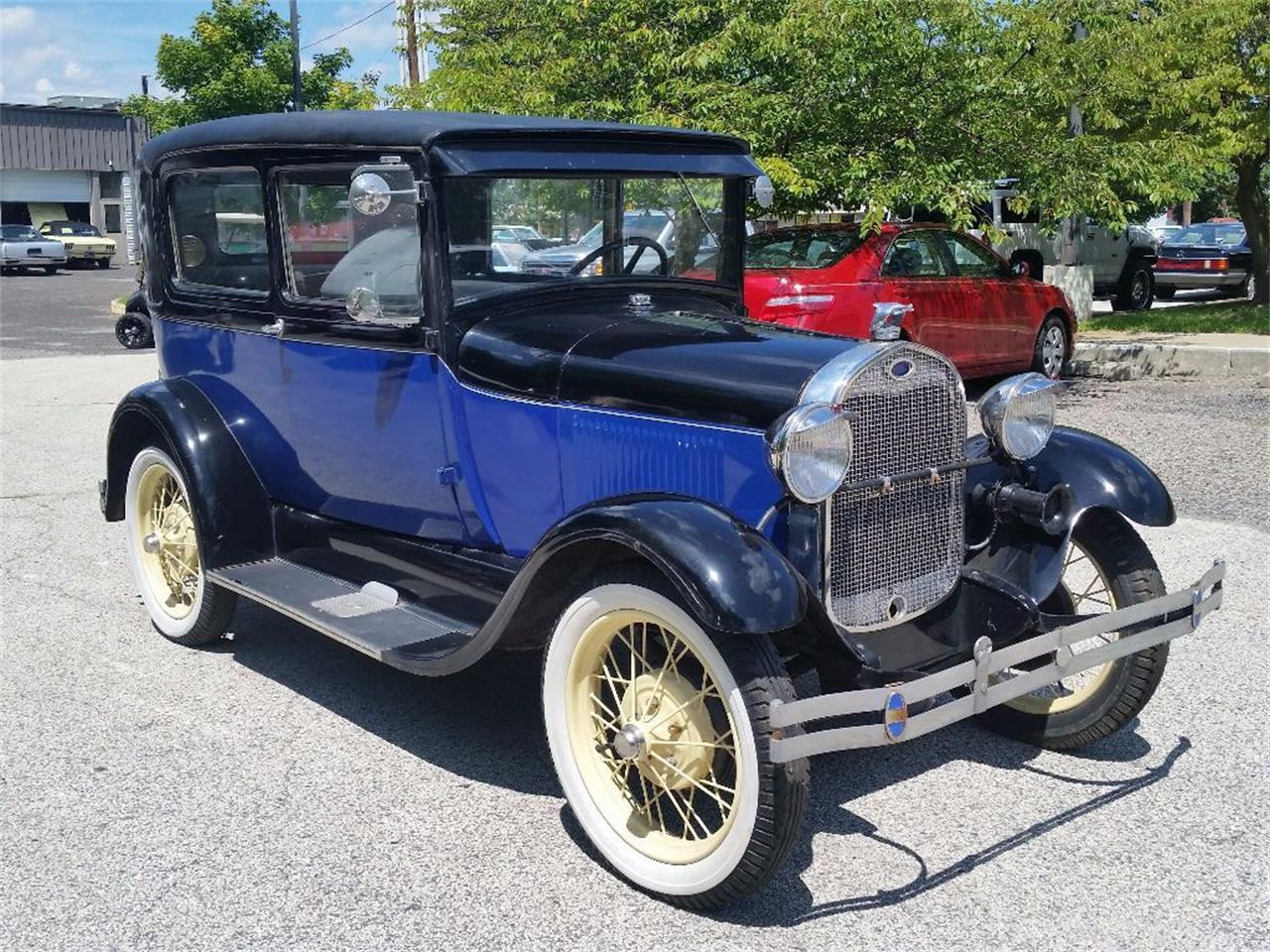 1929 ford model a for sale cc 1136192. Black Bedroom Furniture Sets. Home Design Ideas