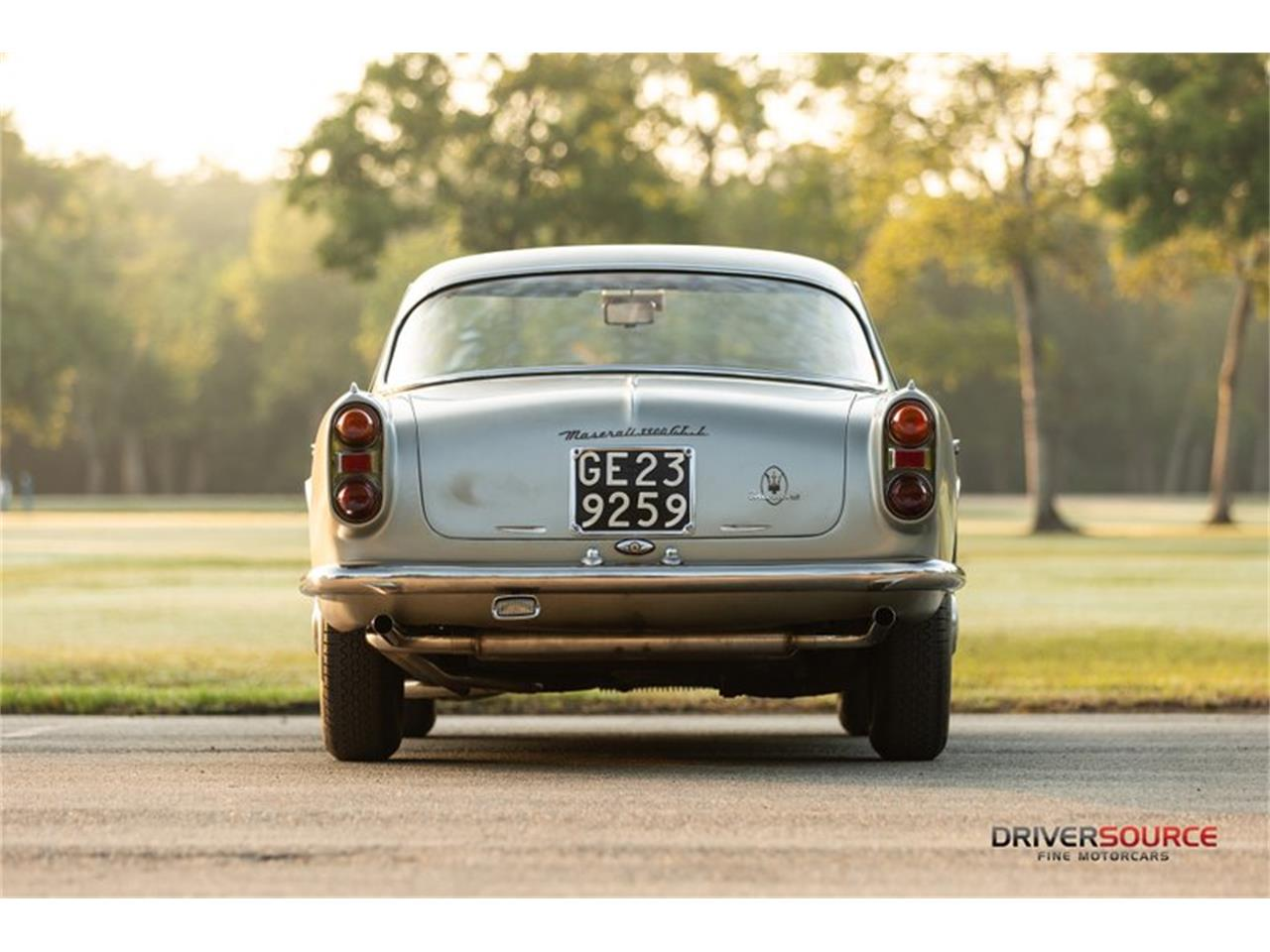 Large Picture of Classic '62 Maserati 3500 located in Houston Texas - $278,500.00 Offered by Driversource - OCR7