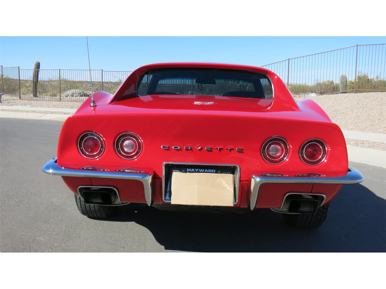 Large Picture of Classic 1972 Chevrolet Corvette located in Vail Arizona Offered by a Private Seller - OCSF
