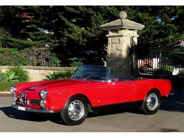 1964 Alfa Romeo 2600