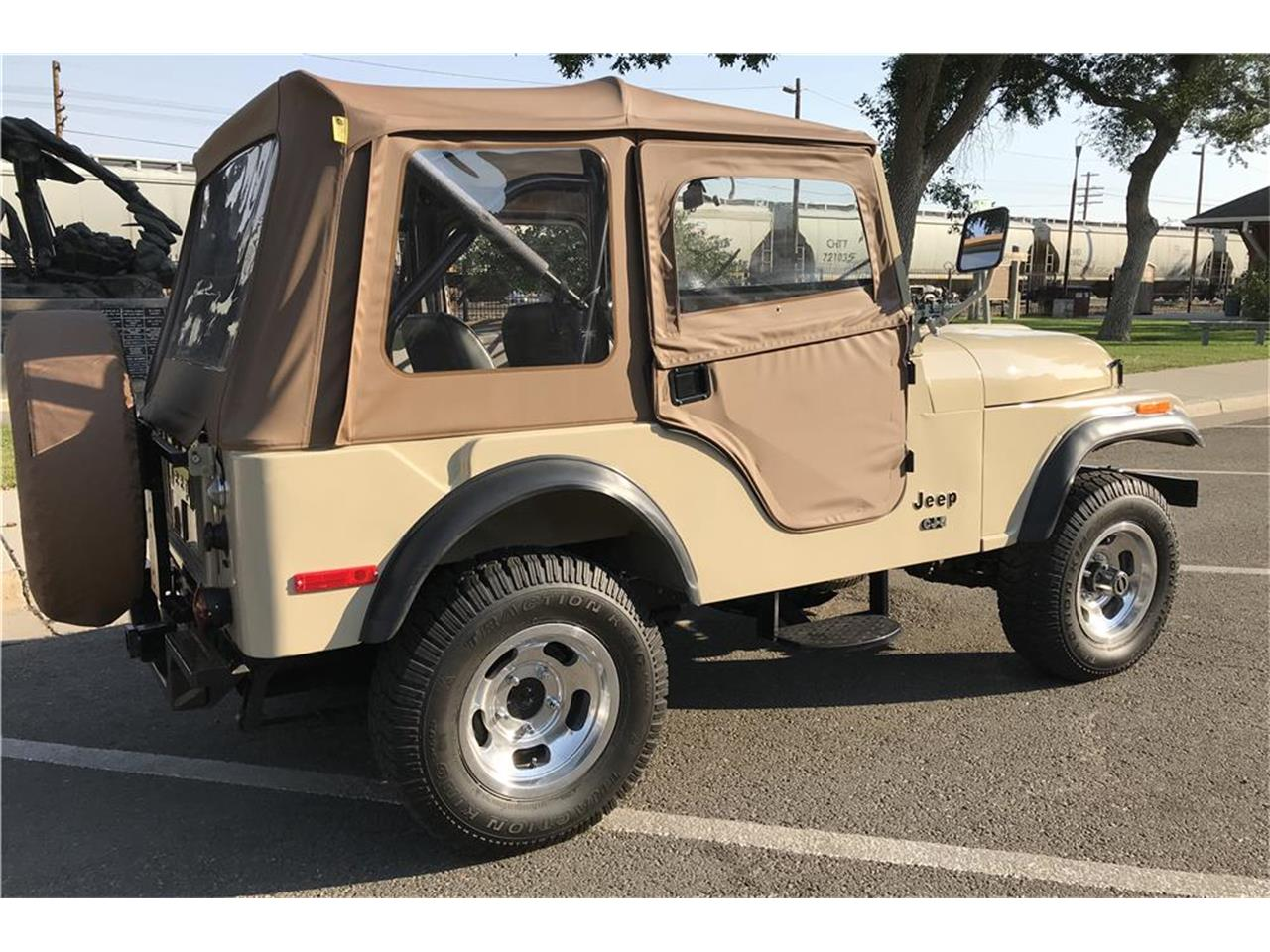 Large Picture of 1975 Jeep CJ5 located in Las Vegas Nevada Auction Vehicle Offered by Barrett-Jackson - OD0B
