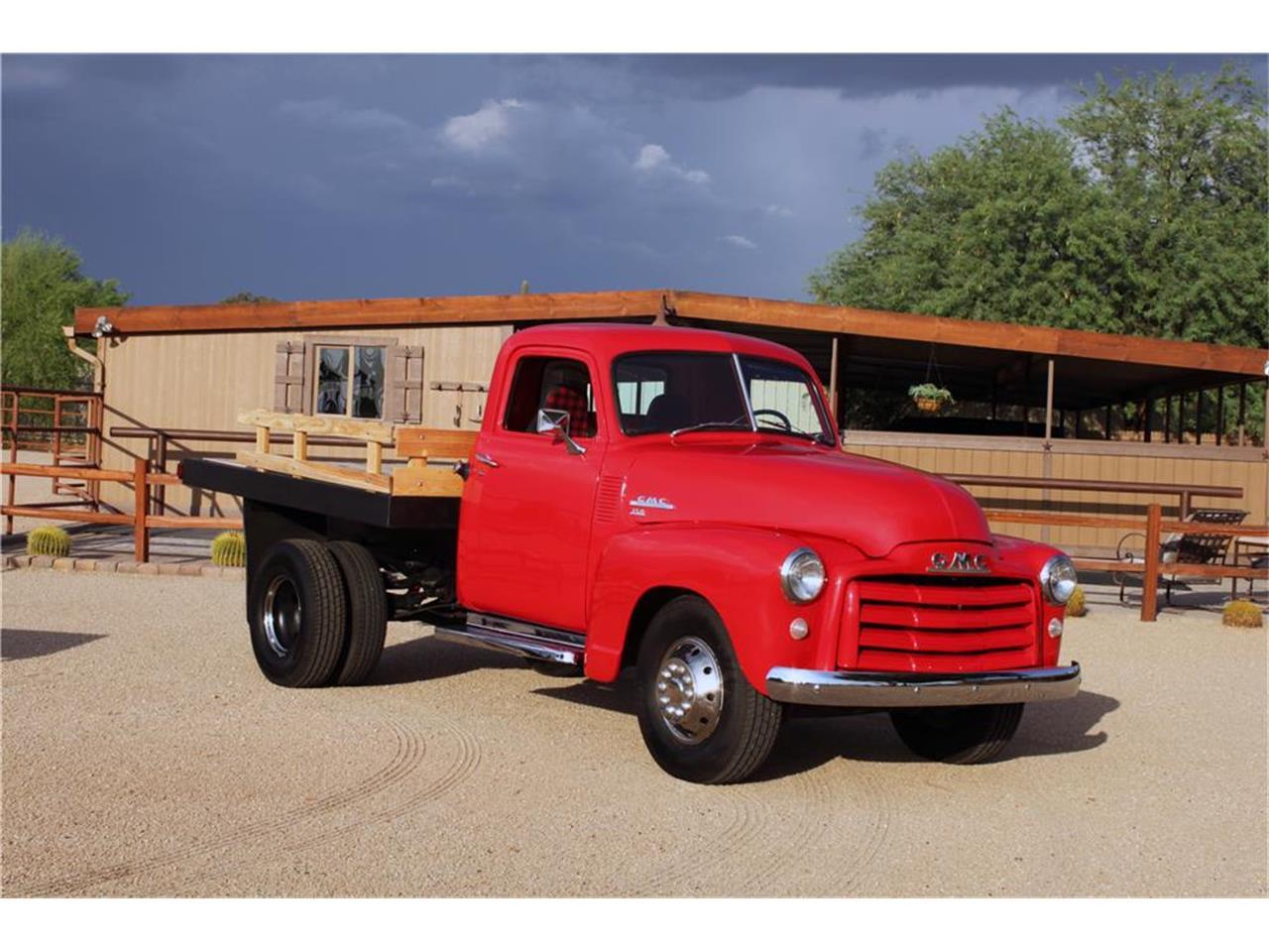 1950 Gmc 1 Ton Flatbed For Sale Classiccars Com Cc 1136607