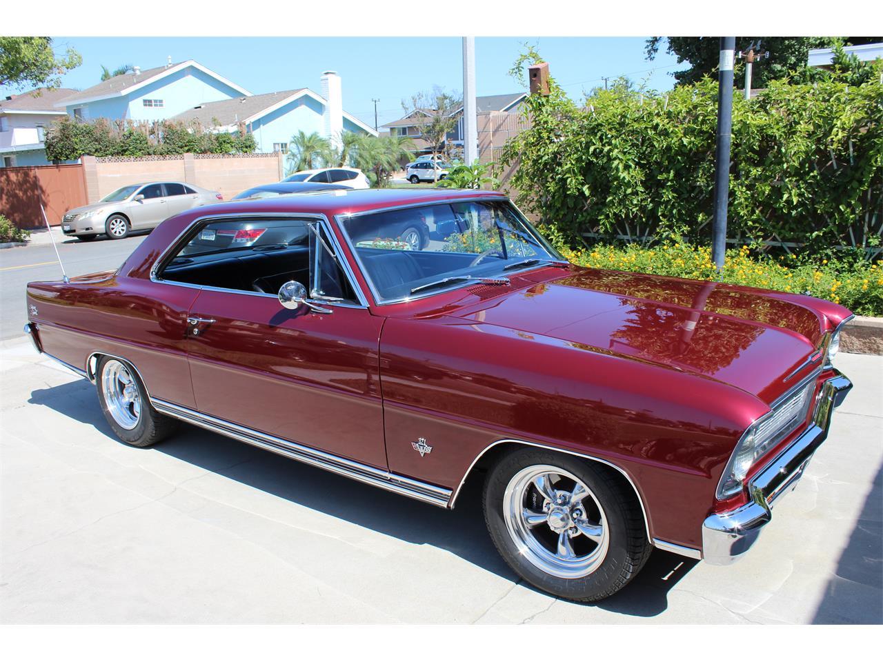1966 Chevrolet Chevy Ii Nova Ss For Sale Classiccars Com