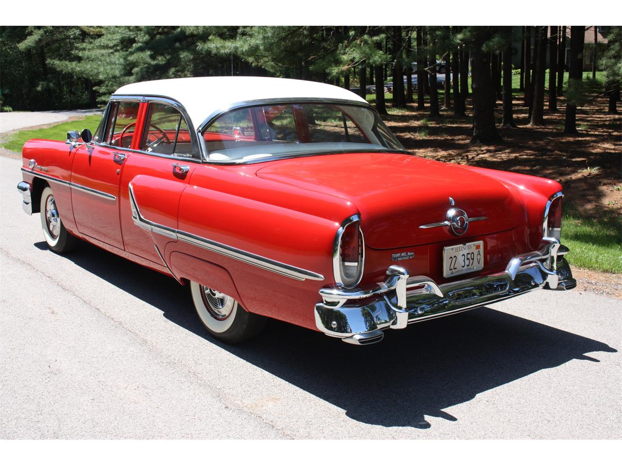 Large Picture of '55 Mercury Monterey located in Woodstock Illinois Auction Vehicle - OD59