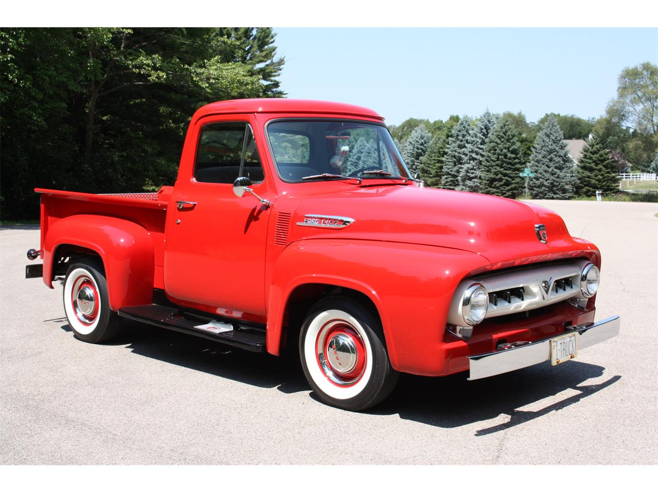 Large Picture of Classic 1953 F100 Auction Vehicle - OD67
