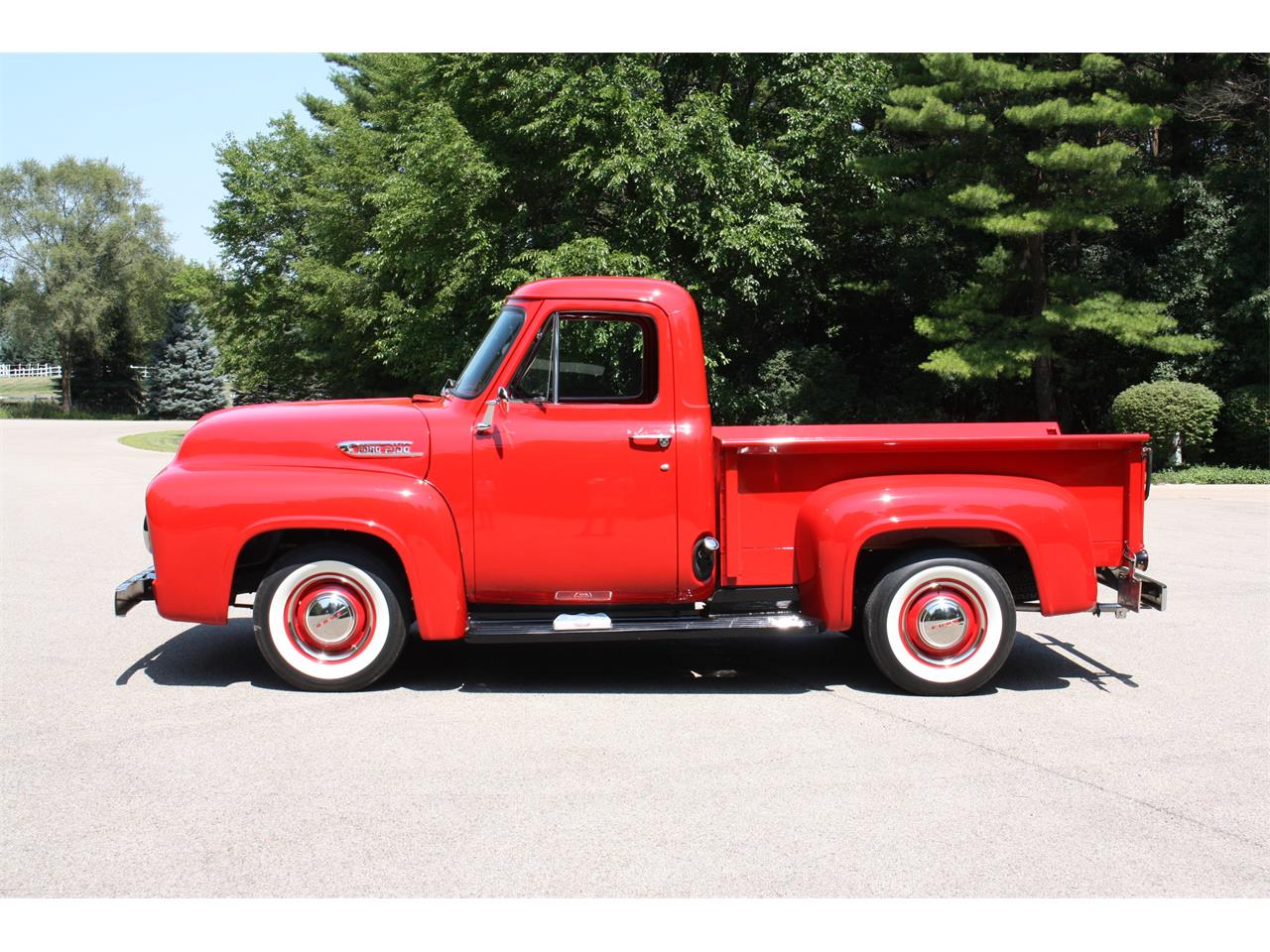 Large Picture of Classic 1953 F100 located in Woodstock Illinois Auction Vehicle Offered by Aumann Auctions - OD67