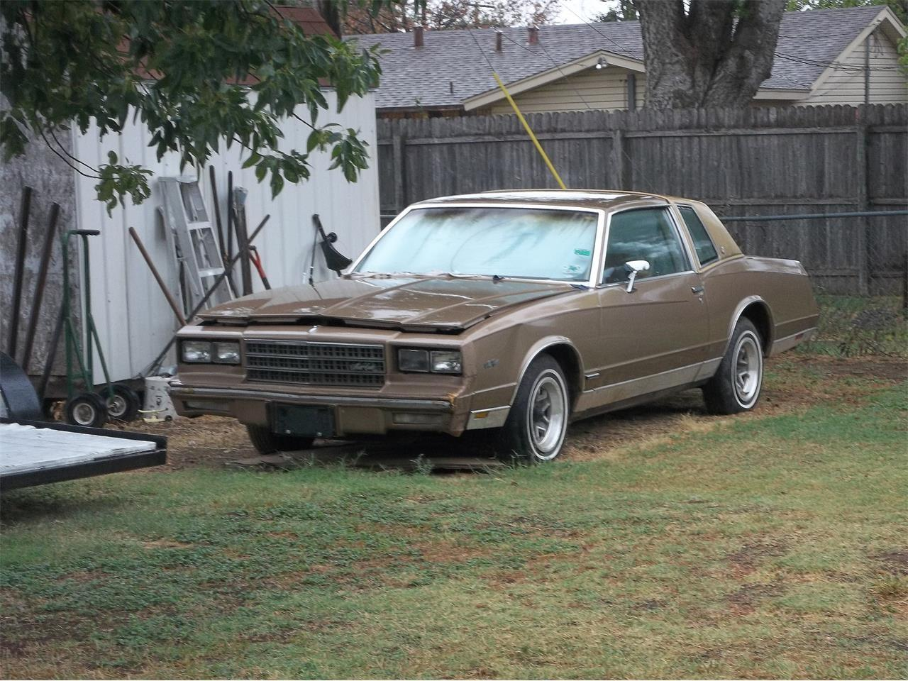 1982 Chevrolet Monte Carlo For Sale Classiccars Com Cc 1137098