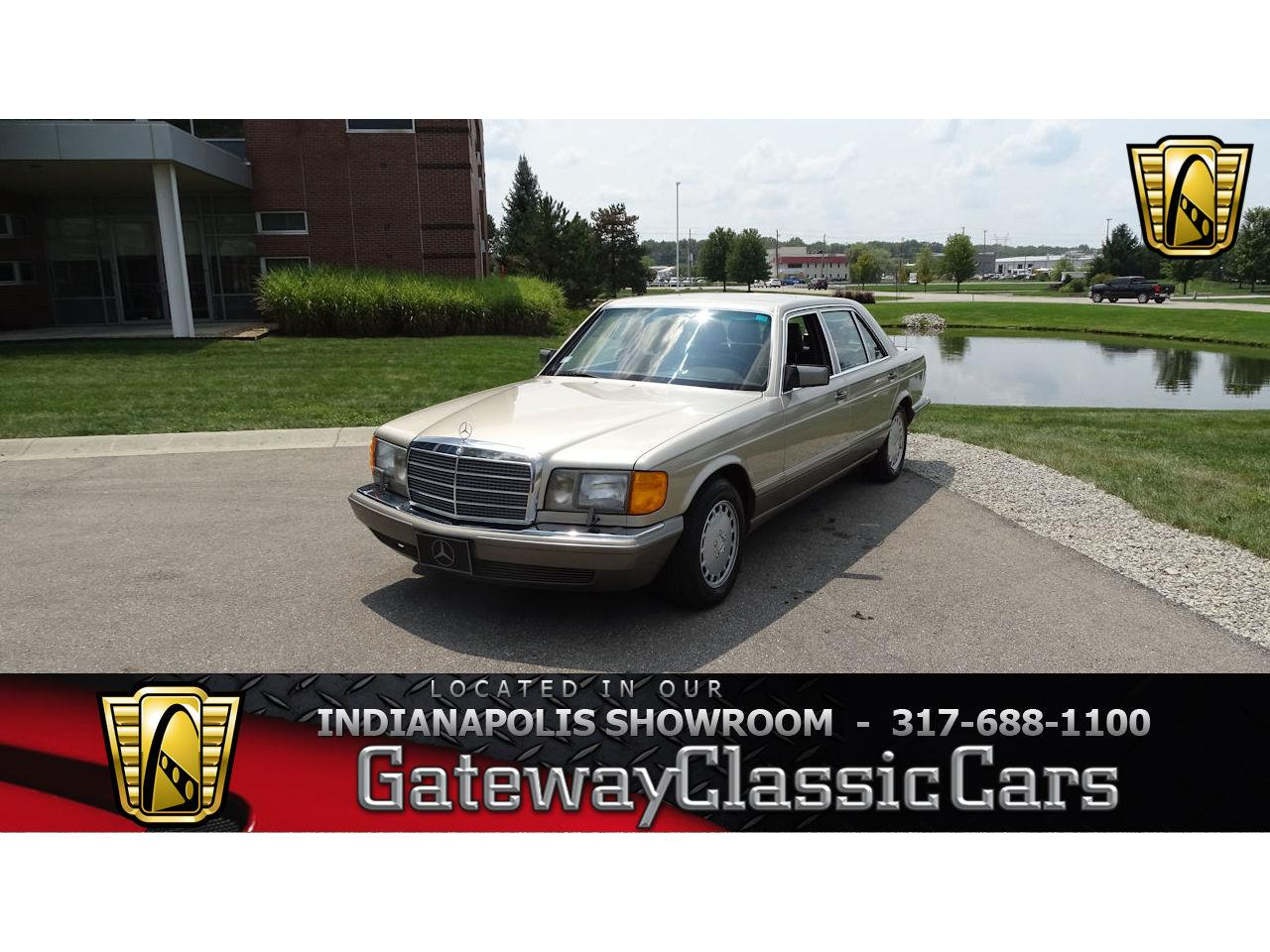 For Sale: 1987 Mercedes Benz 420SEL In Indianapolis, Indiana