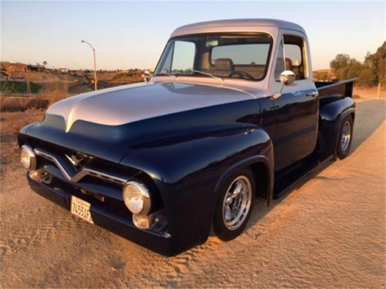 1955 Ford F100 For Sale Cc 1137372 On 20 Inch Wheels Large Picture Of 55 Odlo