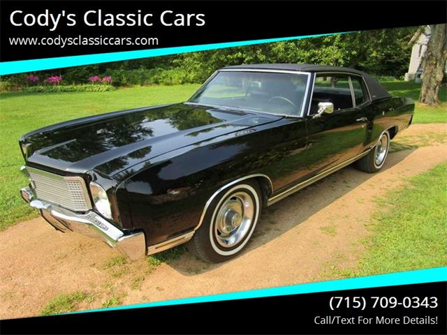 Picture of Classic 1970 Monte Carlo located in Stanley Wisconsin - ODS5