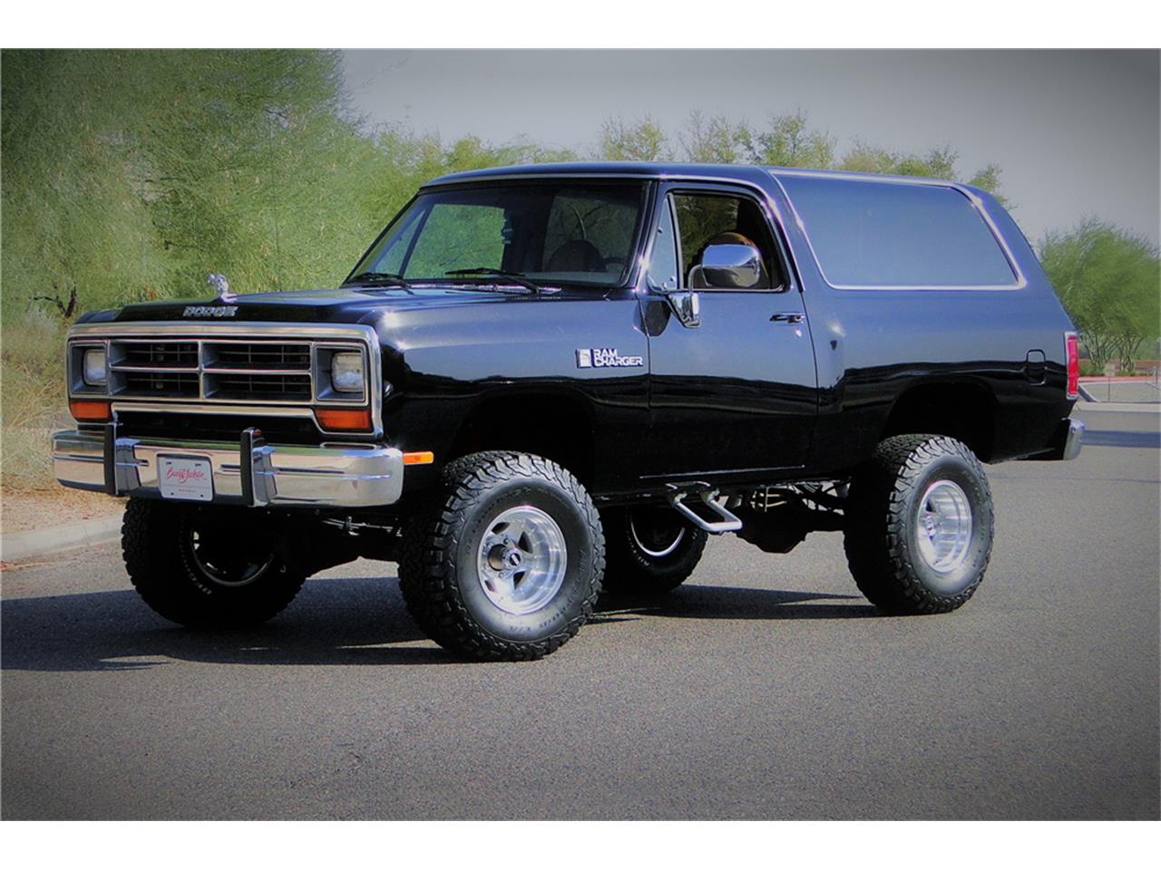 1988 Dodge Ramcharger For Sale Classiccars Com Cc 1137995