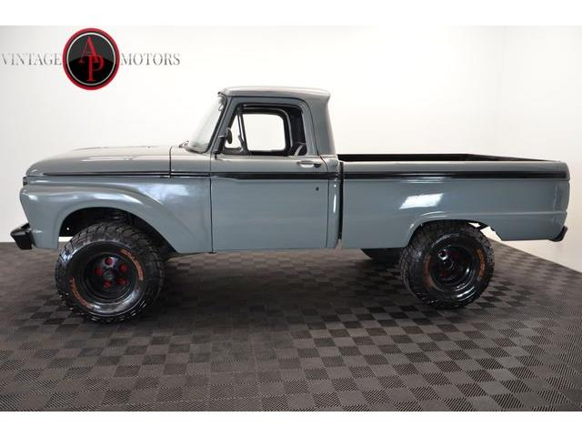 1966 Ford F100 For Sale On Classiccars Com