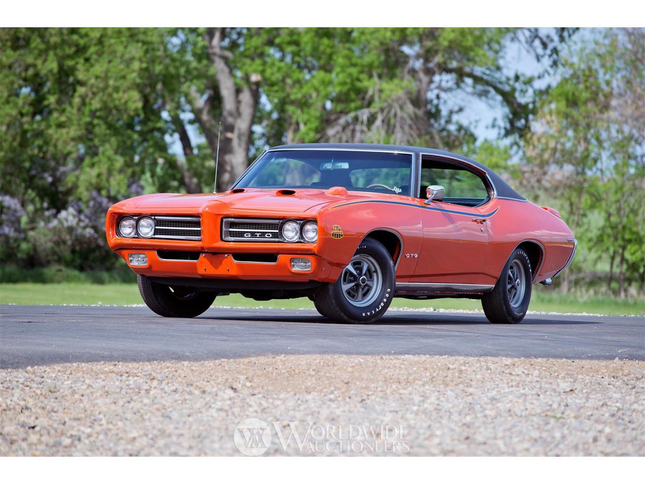 1969 Pontiac GTO Judge Ram Air IV for Sale   ClassicCars com
