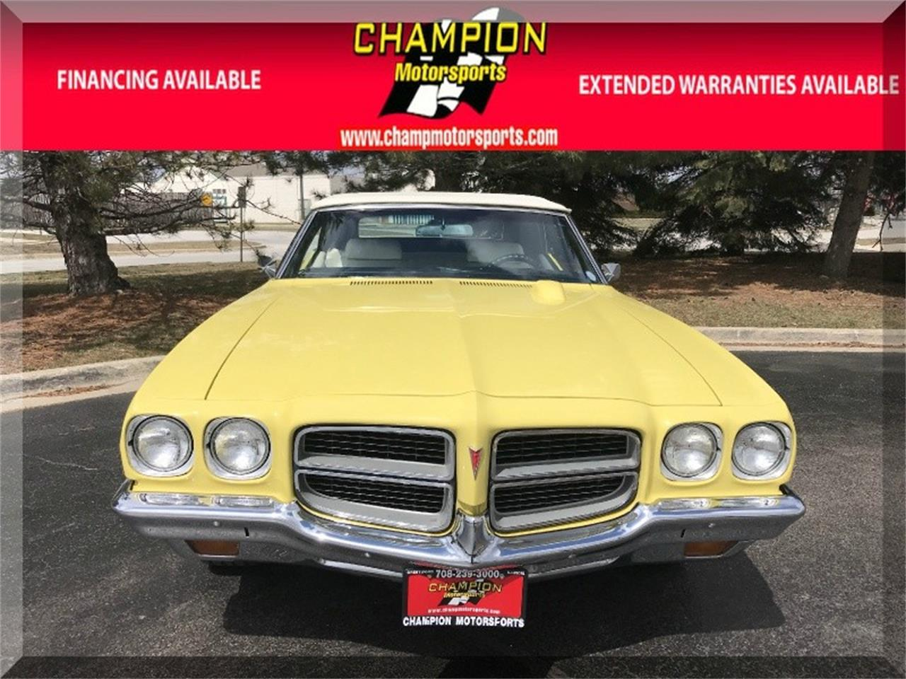 Large Picture of Classic 1972 Pontiac LeMans located in Illinois Offered by Champion Motorsports - O8KJ