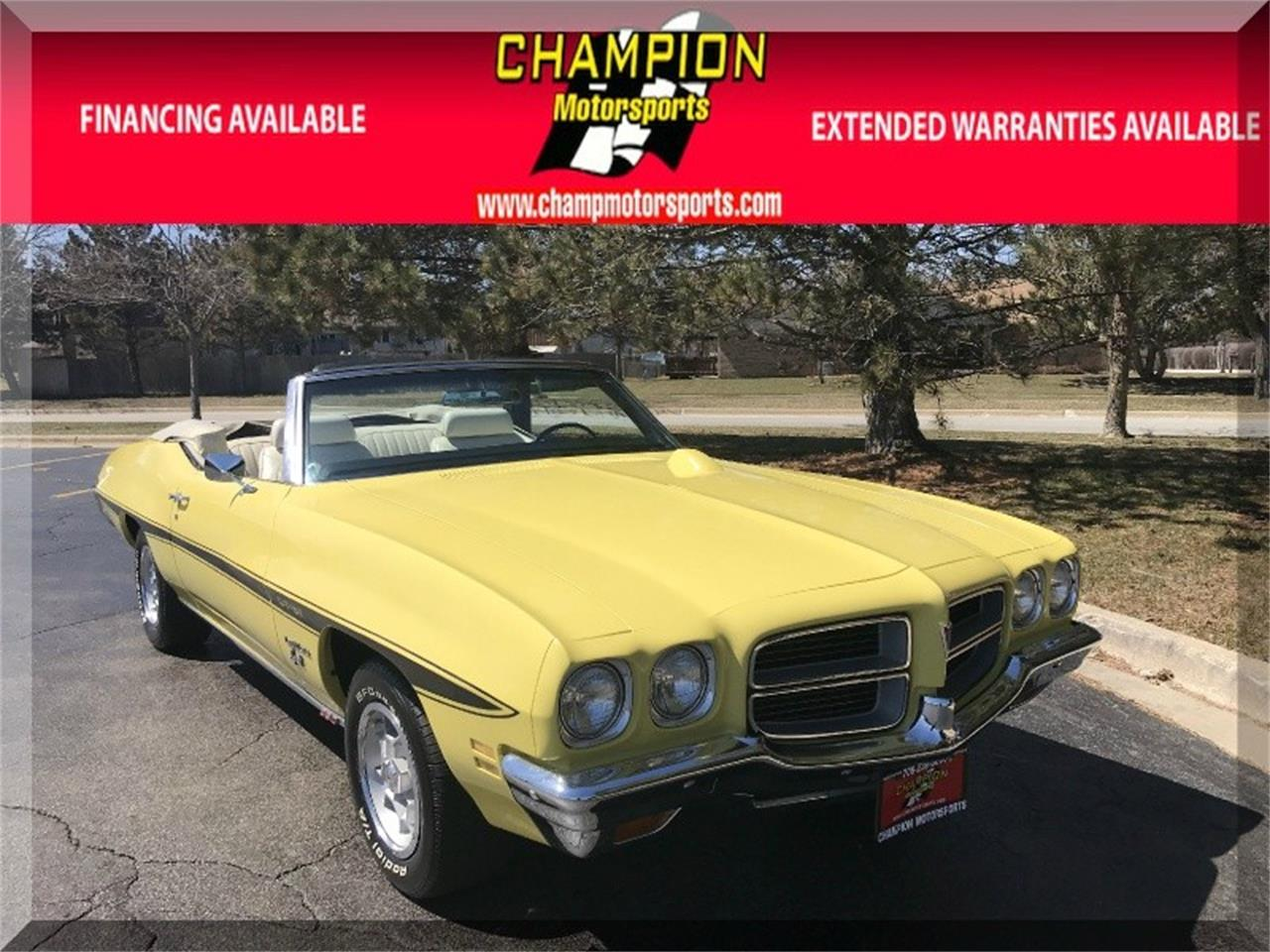 Large Picture of 1972 LeMans located in Illinois - $24,900.00 Offered by Champion Motorsports - O8KJ