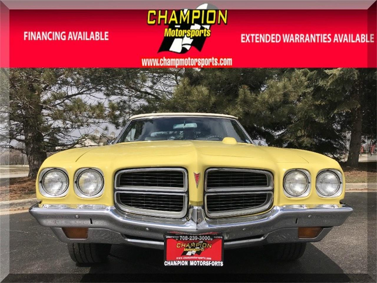 Large Picture of '72 LeMans - O8KJ