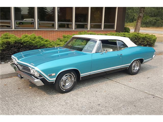 1968 Chevrolet Chevelle Ss For Sale On Classiccars Com