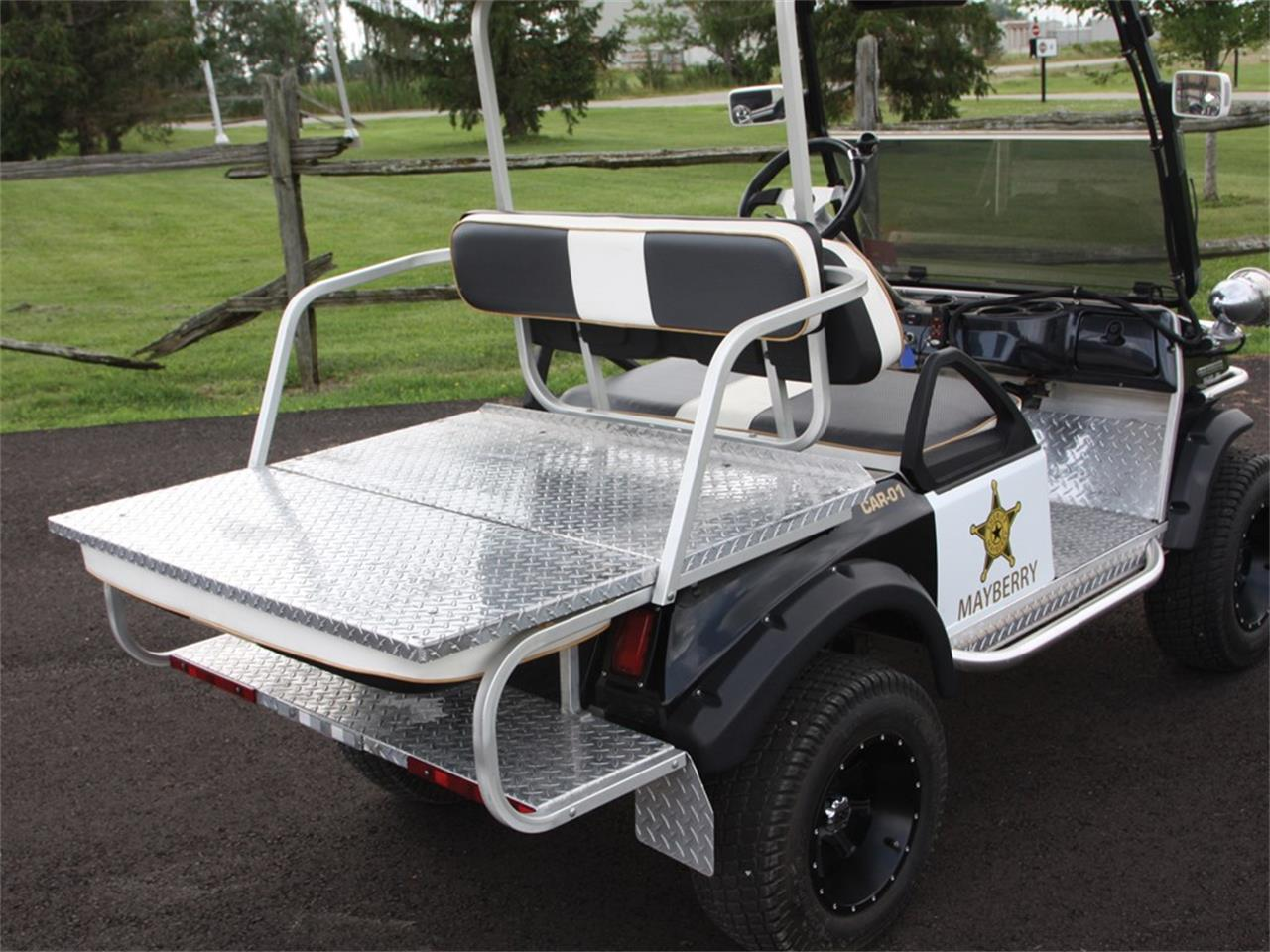 2002 club car mayberry police golf cart for sale cc 1138813. Black Bedroom Furniture Sets. Home Design Ideas