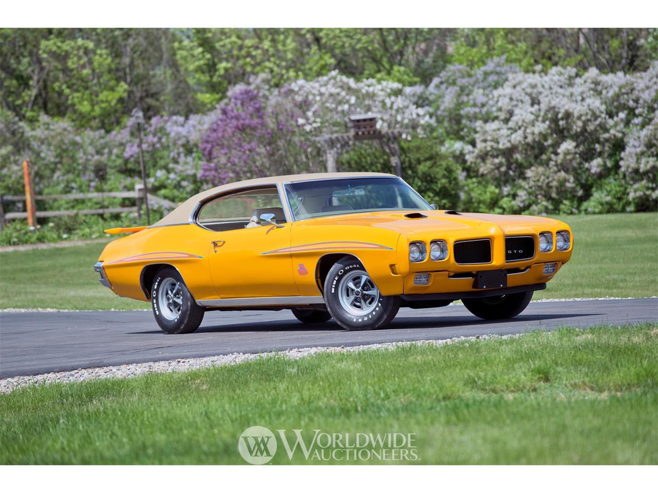 Picture of '70 GTO Judge Ram Air IV - O7ZD