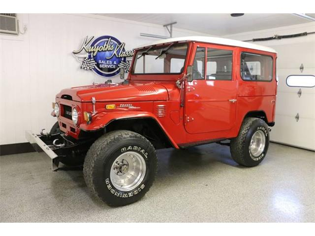 Amazing 1972 Toyota Land Cruiser FJ