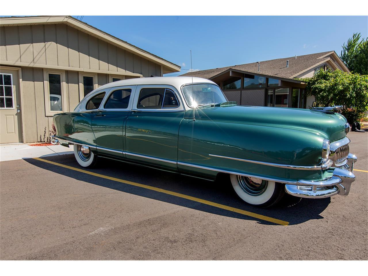 Nash Car: 1951 Nash Ambassador For Sale