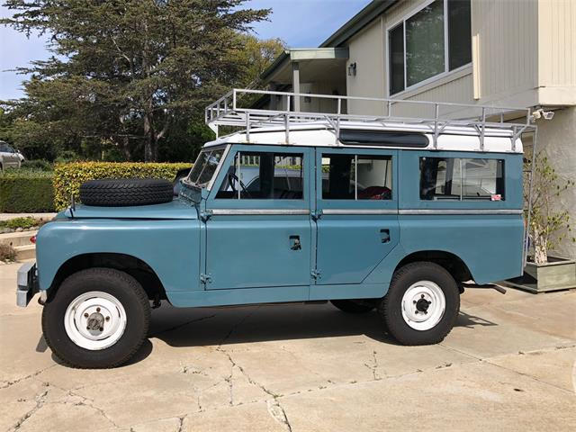 Picture of '63 Land Rover Series IIA located in Vista California - $55,000.00 Offered by a Private Seller - OEYG