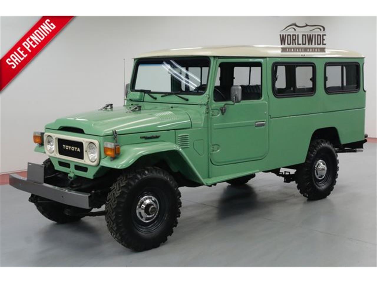 For Sale: 1984 Toyota Land Cruiser FJ45 in Denver , Colorado