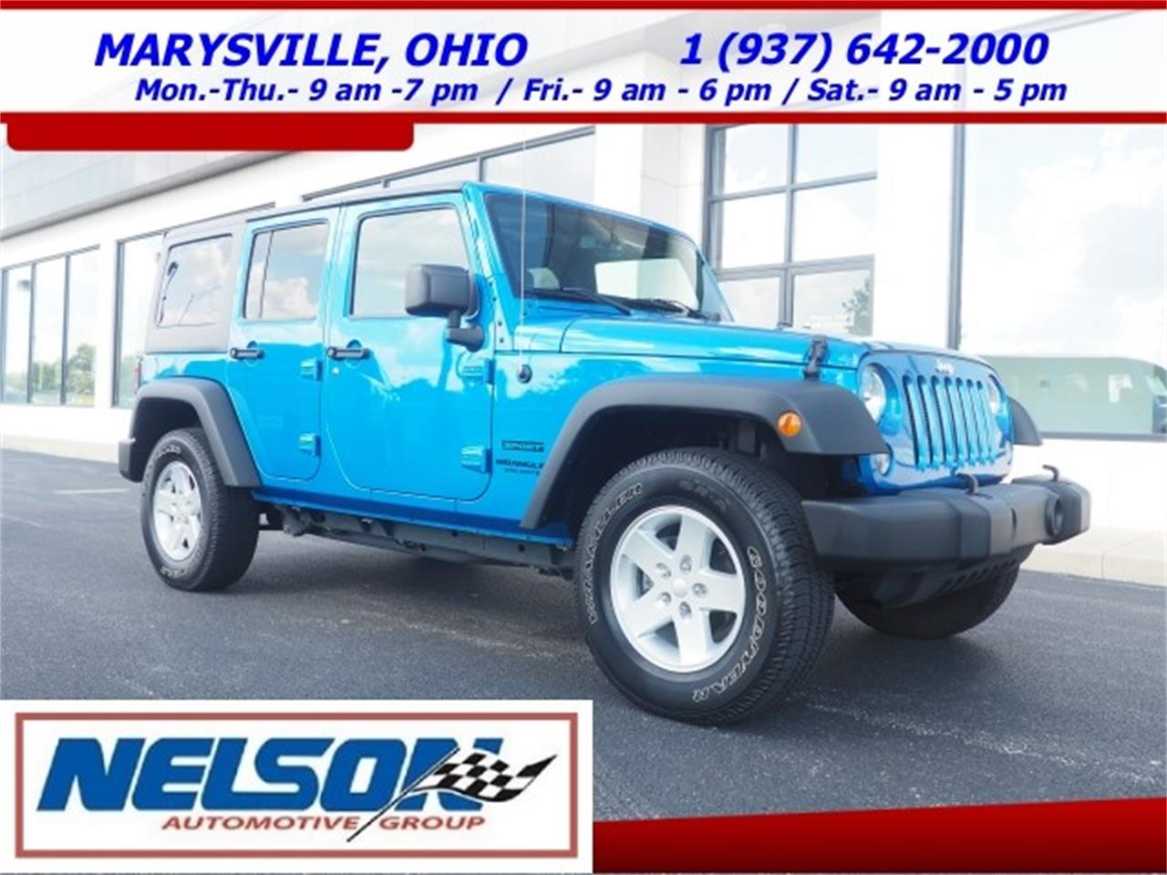 Jeeps For Sale In Ohio >> 2015 Jeep Wrangler For Sale Classiccars Com Cc 1139475