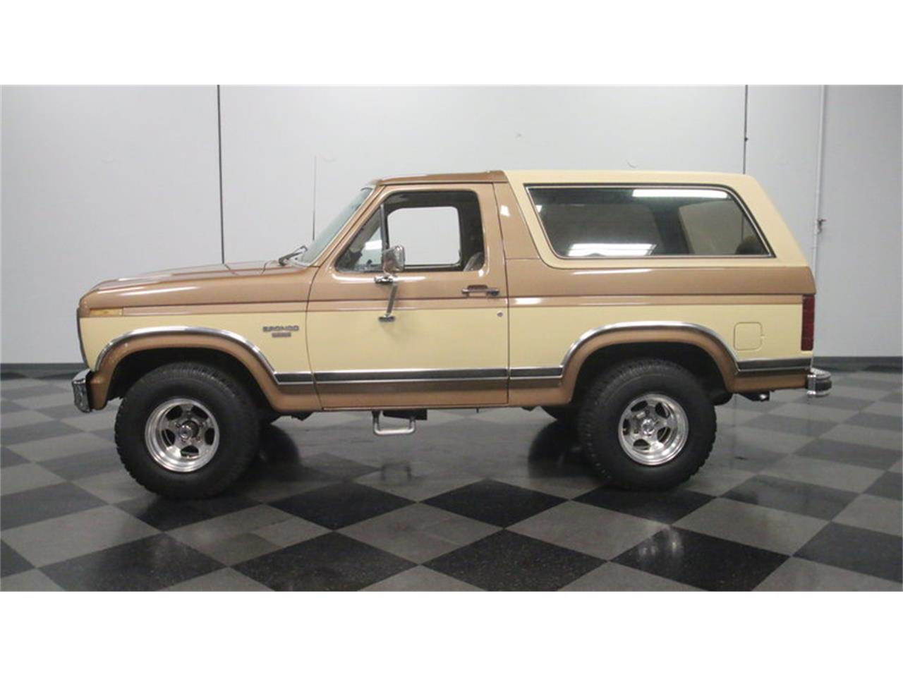 Large picture of 1985 ford bronco offered by streetside classics atlanta ofbc