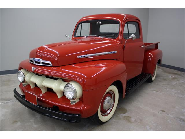 Ford F Thumb on 1951 F1 Ford Short Bed