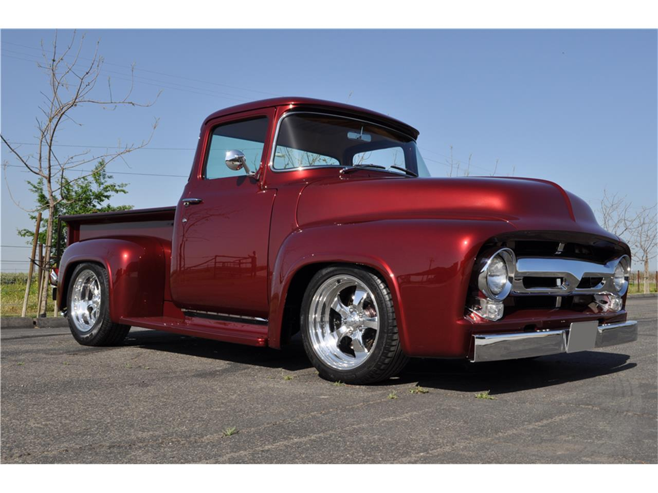 1956 Ford F100 For Sale Cc 1139703 1955 Pick Up Gauge Cluster Large Picture Of 56 Ofef