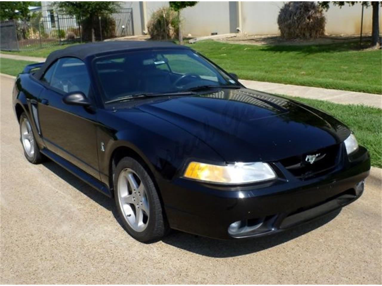 For sale 1999 ford mustang cobra in arlington texas