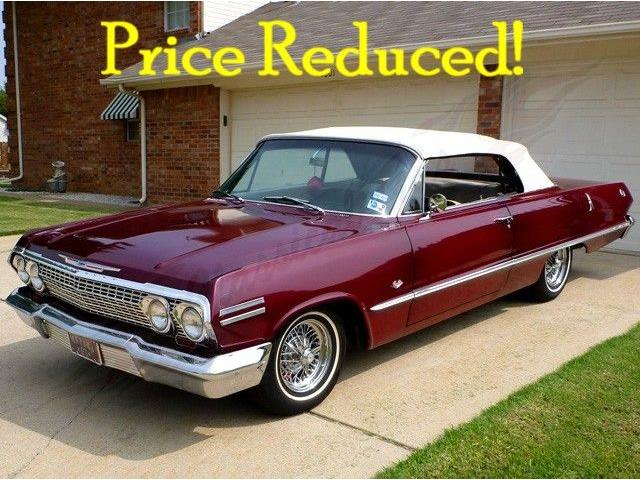 1963 Chevrolet Impala For Sale On Classiccars Com On