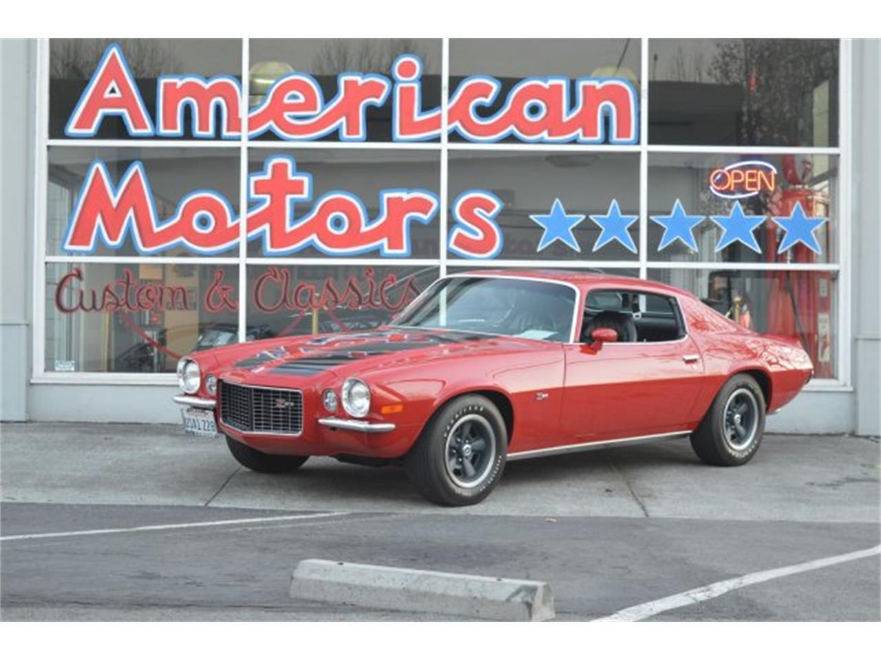 For Sale: 1971 Chevrolet Camaro in San Jose, California
