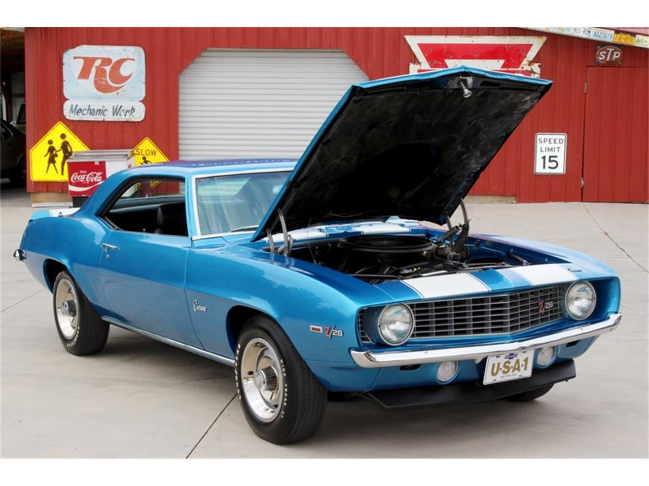 Large Picture of '69 Chevrolet Camaro located in Lenoir City Tennessee - $99,995.00 Offered by Smoky Mountain Traders - O8O3
