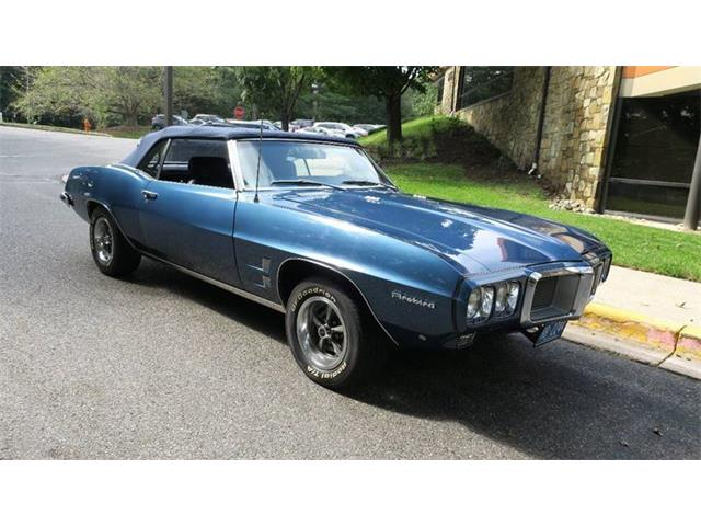 Picture of Classic '69 Firebird located in Maryland - $37,900.00 Offered by  - OFGX