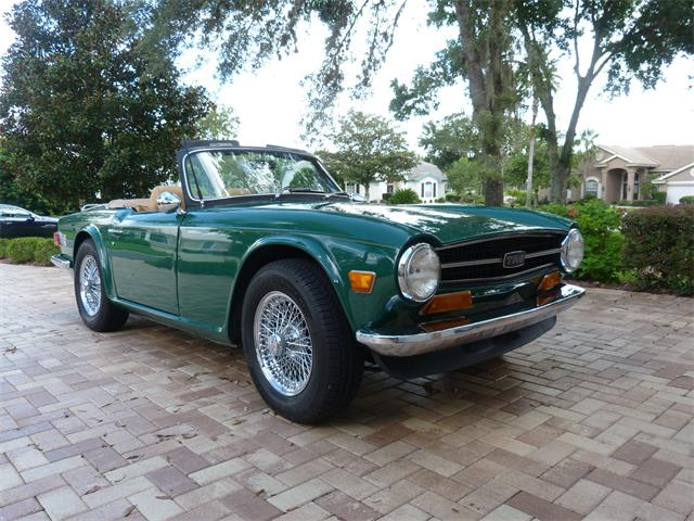 Picture of Classic '72 Triumph TR6 located in Weeki Wachee Florida - $26,500.00 Offered by a Private Seller - OFMH