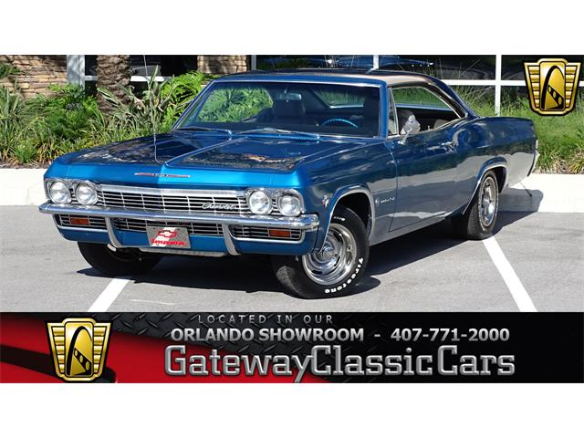 1965 Chevrolet Impala For Sale On Classiccars Com