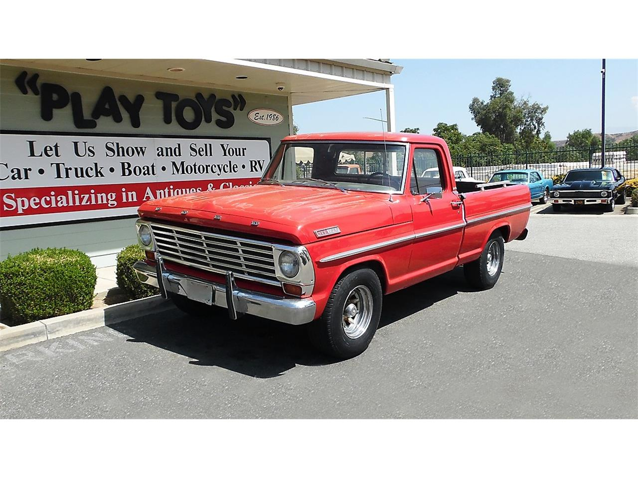 1967 Ford F100 For Sale Classiccars Com Cc 1141045