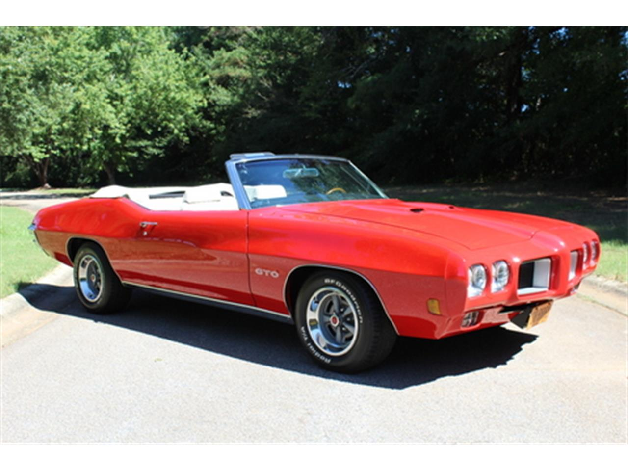 Large Picture of Classic 1970 Pontiac GTO - $56,950.00 Offered by Fraser Dante - OGMT