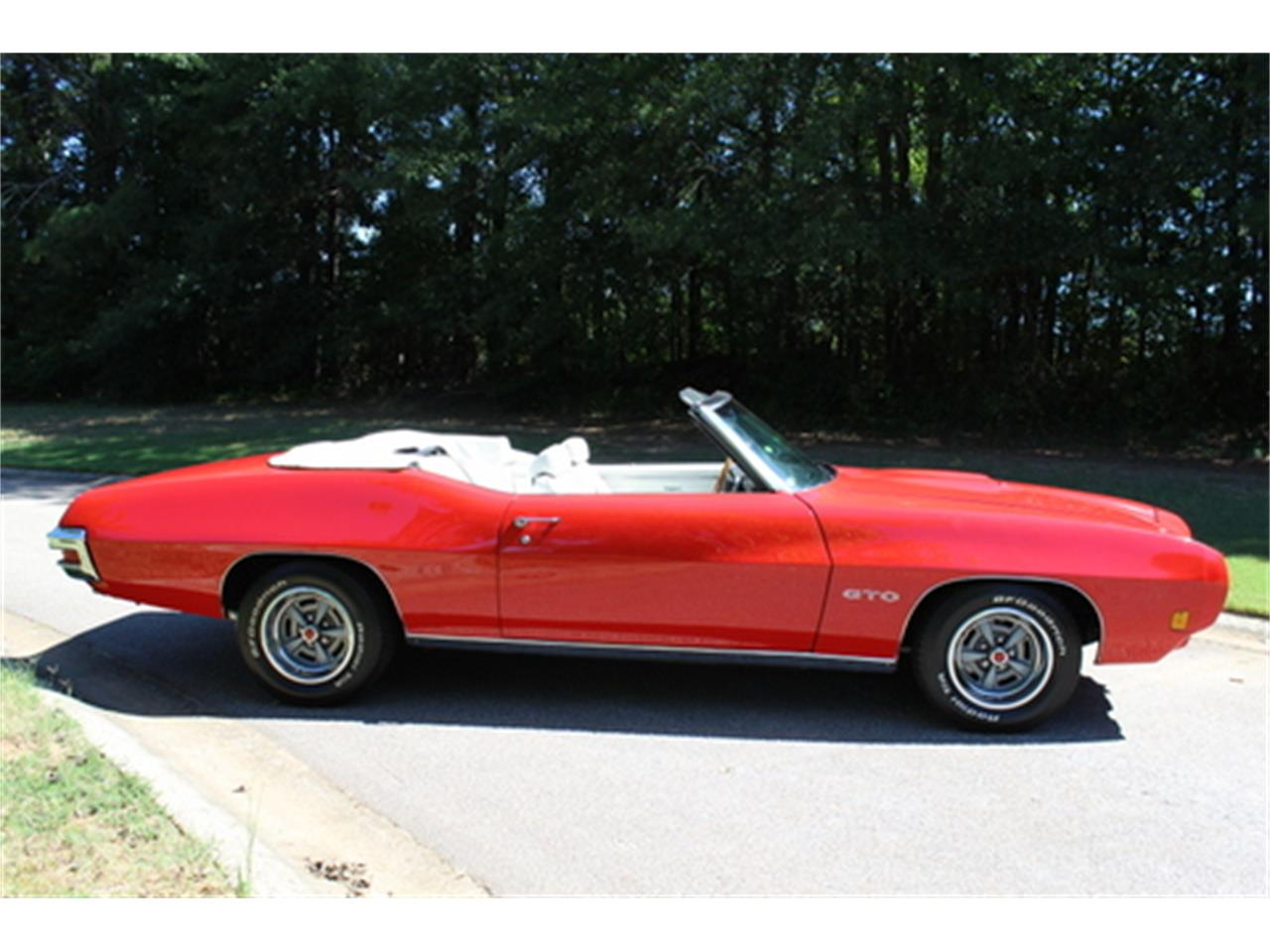 Large Picture of '70 Pontiac GTO located in Georgia Offered by Fraser Dante - OGMT
