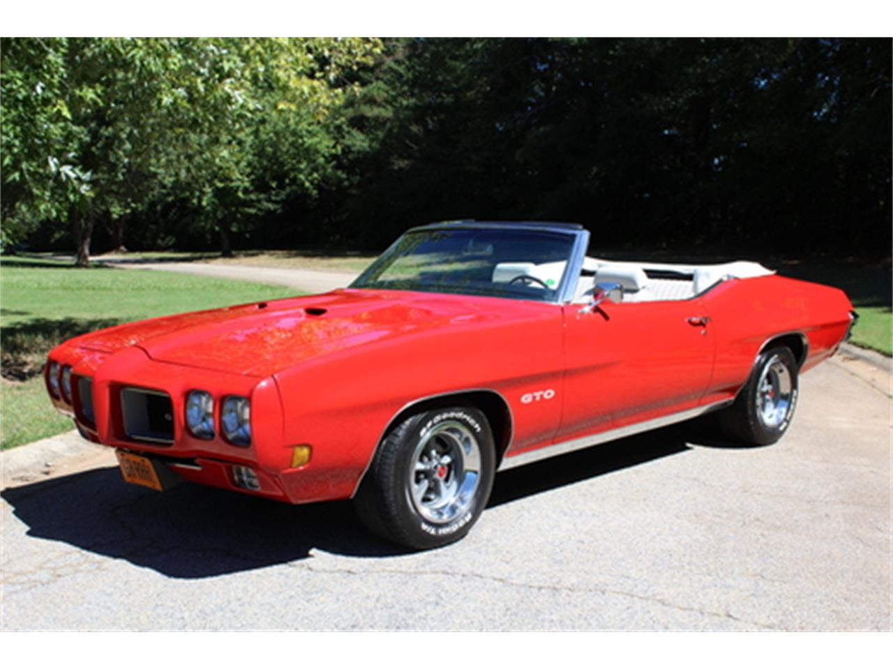 Large Picture of '70 GTO located in Georgia - $56,950.00 Offered by Fraser Dante - OGMT