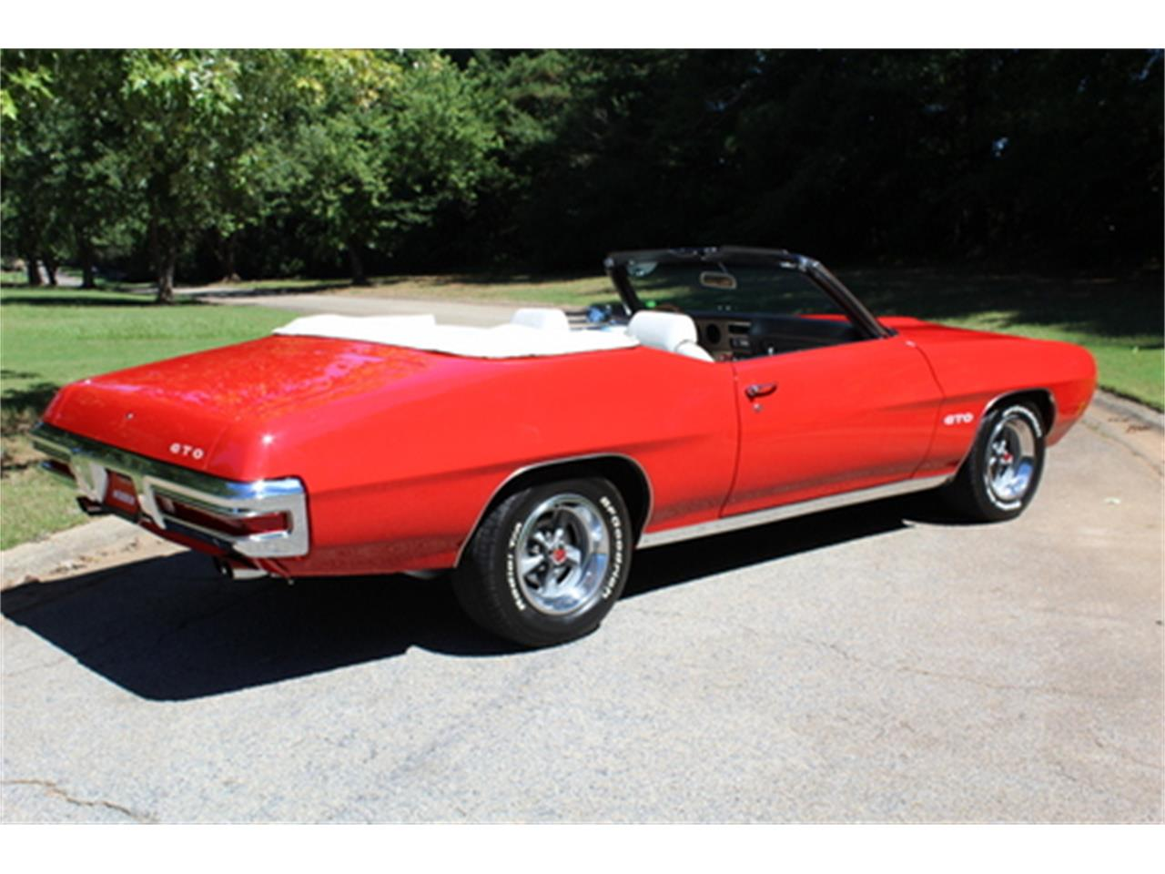 Large Picture of Classic 1970 Pontiac GTO located in Georgia - $56,950.00 Offered by Fraser Dante - OGMT