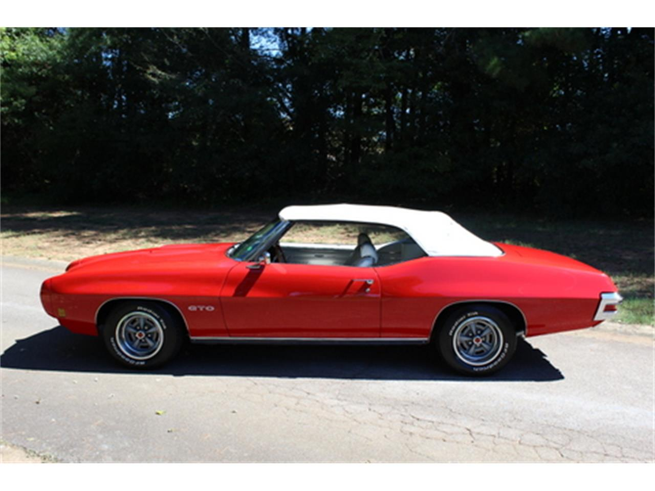 Large Picture of Classic 1970 Pontiac GTO located in Roswell Georgia - $56,950.00 Offered by Fraser Dante - OGMT