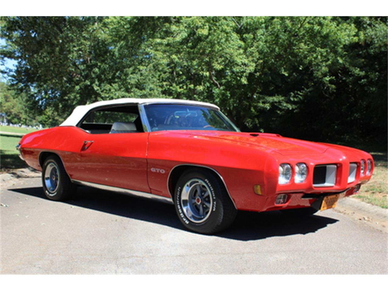 Large Picture of Classic '70 GTO located in Roswell Georgia Offered by Fraser Dante - OGMT