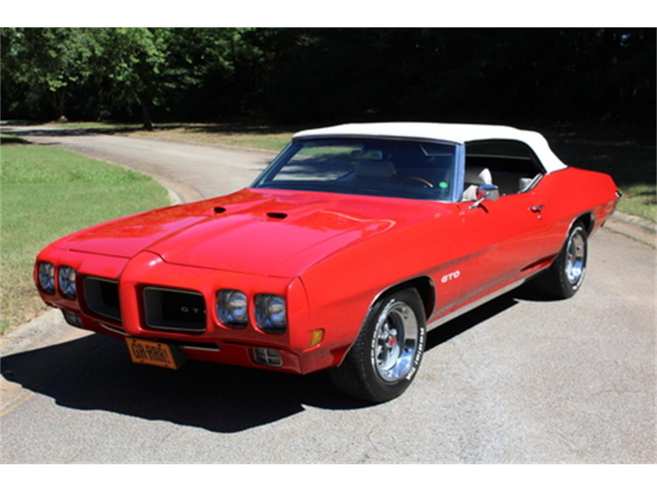 Large Picture of 1970 Pontiac GTO located in Georgia - $56,950.00 Offered by Fraser Dante - OGMT