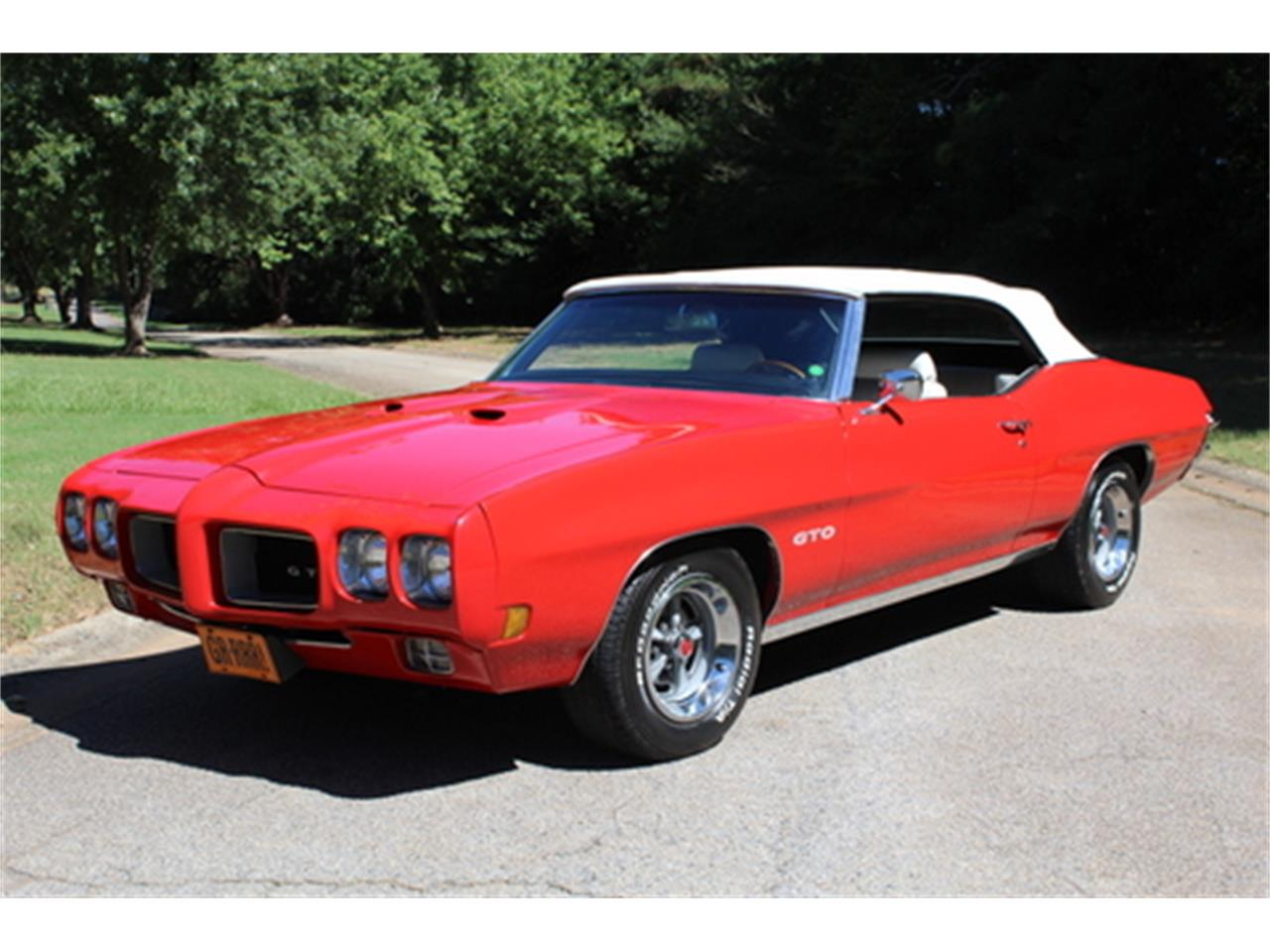 Large Picture of '70 GTO located in Roswell Georgia - $56,950.00 Offered by Fraser Dante - OGMT