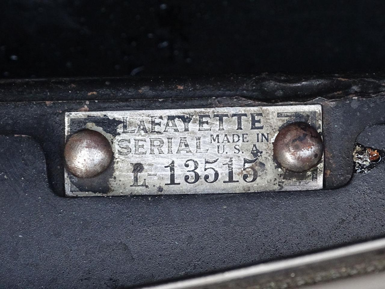 Large Picture of '34 Lafayette - OGQI
