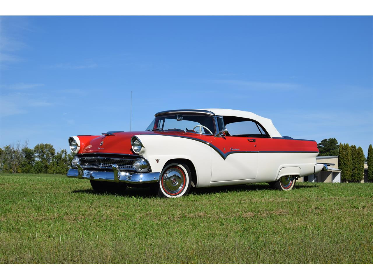 Large Picture of Classic 1955 Ford Sunliner Offered by Hooked On Classics - OGX1